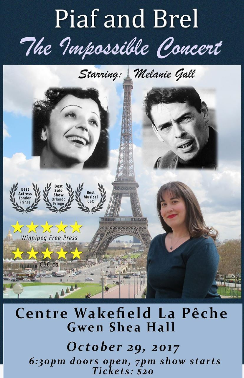 Piaf and Brel – The impossible concert by Melanie Gall